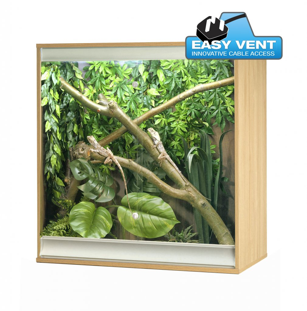 VivExotic Viva+ Arboreal Vivarium Medium Oak - Reptiles UK