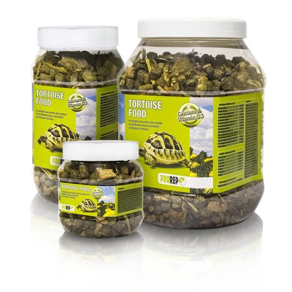 pro rep Tortoise Food with Calcium and Vitamin D3 250g-1kg - Reptiles UK