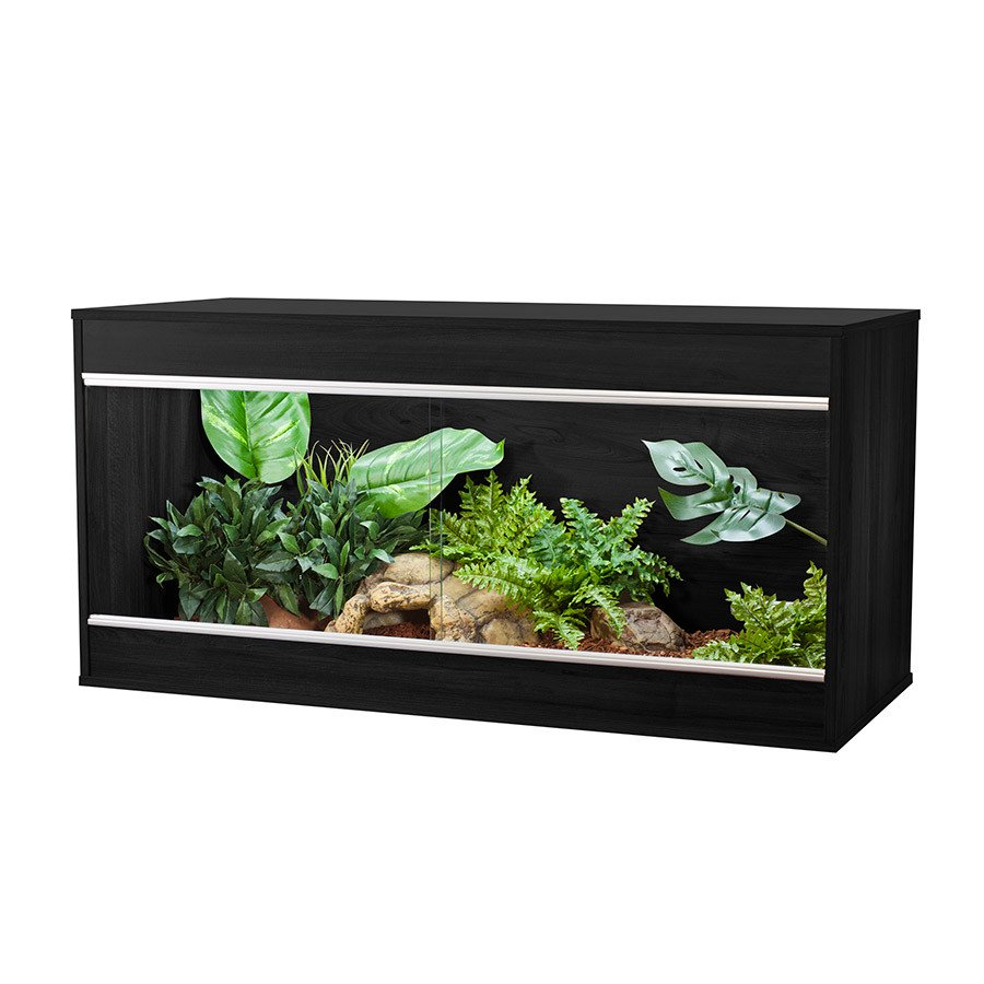 VivExotic Repti-Home Maxi Vivarium - Large Black - Reptiles UK