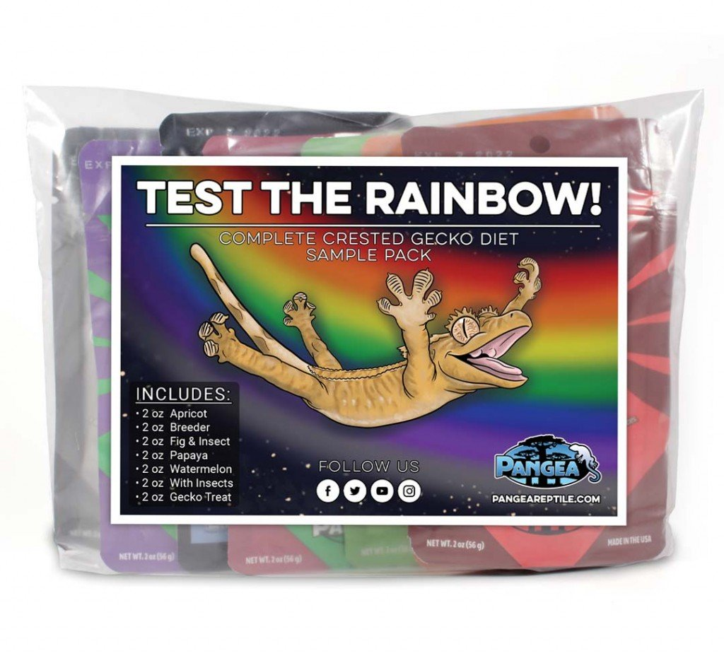 Pangea Test the Rainbow Diet Sample Pack - Reptiles UK