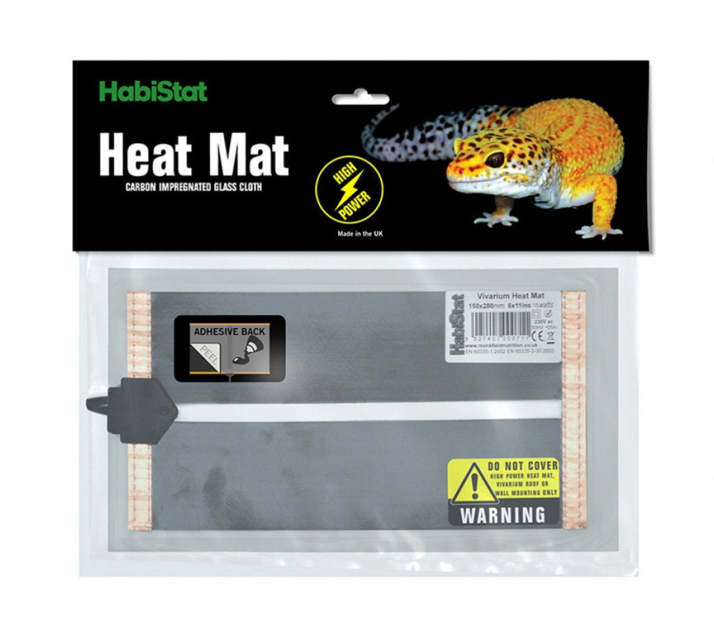 Habistat HabiStat High Power Adhesive Heat Mat - Reptiles UK