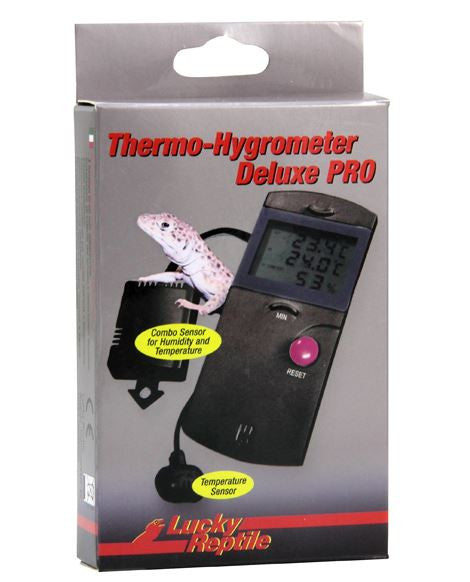 Lucky Reptile Thermometer - Hygro Deluxe PRO - Reptiles UK