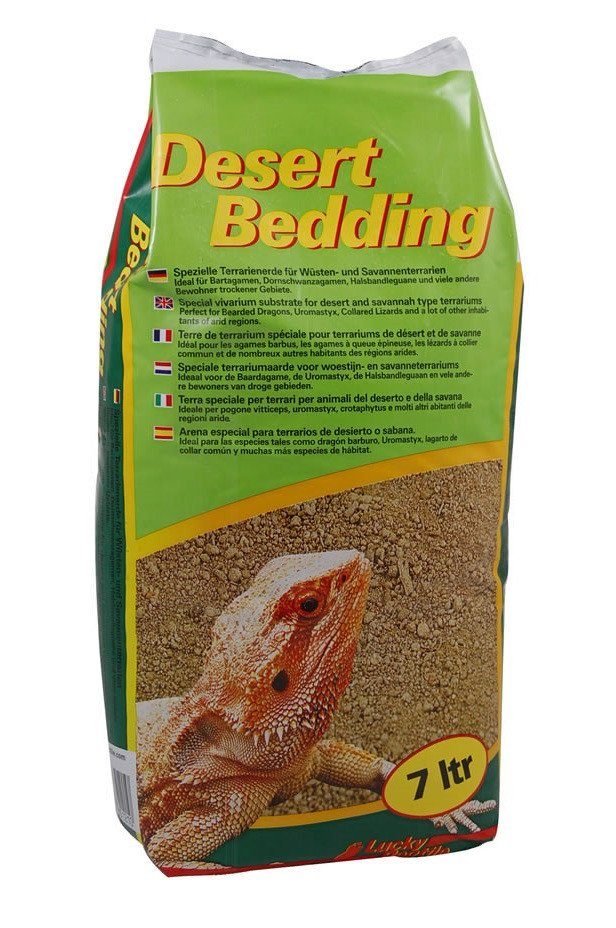Lucky Reptile Desert Bedding 7-20ltrs - Reptiles UK