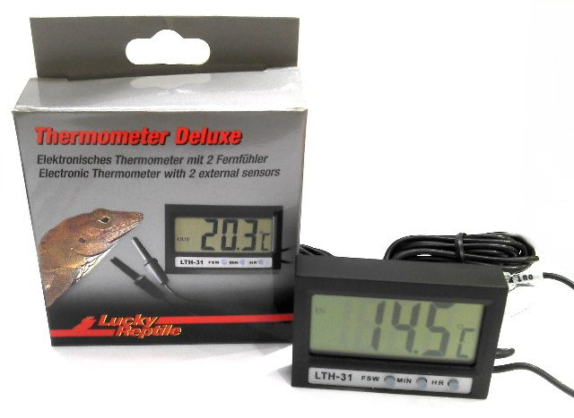 Lucky Reptile Thermometer Deluxe - Reptiles UK