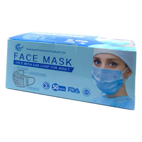 Disposable Face Mask - FDA Approved