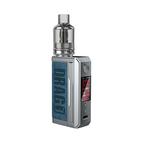 Drag 3 Kit TPP Pod Tank - Voopoo - Prussian Blue