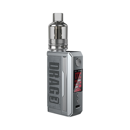 Drag 3 Kit TPP Pod Tank - Voopoo - Smokey Grey