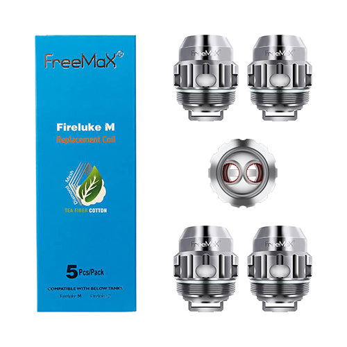 Fireluke M Replacement Coils - Freemax - TNX2 Mesh