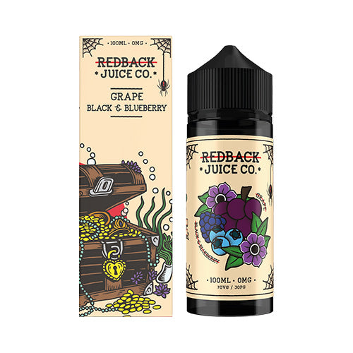 Grape, Black & Blueberry - Redback Juice Co. - 100ml