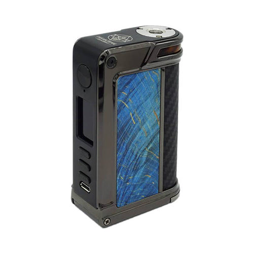 Paranormal DNA250C - LVE - Lost Vape - Gun Metal - Blue Stab Wood - Black Kevlar