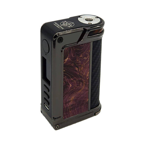 Paranormal DNA250C - LVE - Lost Vape - Gun Metal - Purple Stab Wood - Black Kevlar