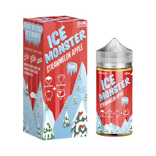 Strawmelon Apple - Ice Monster - 100ml