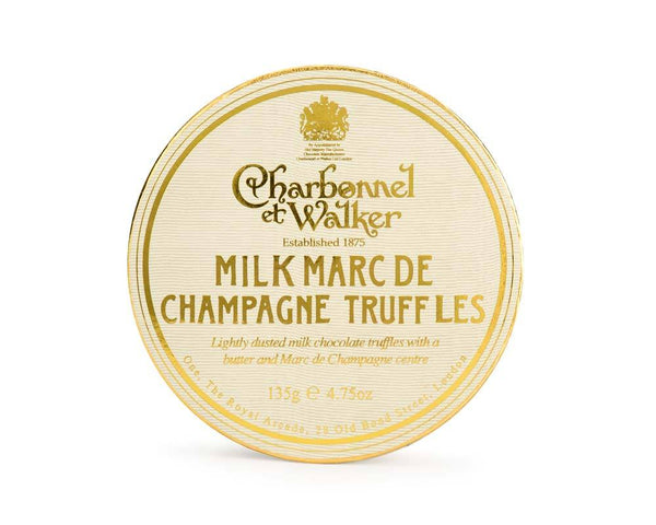 Milk Marc de Champagne Chocolate Truffles 135g