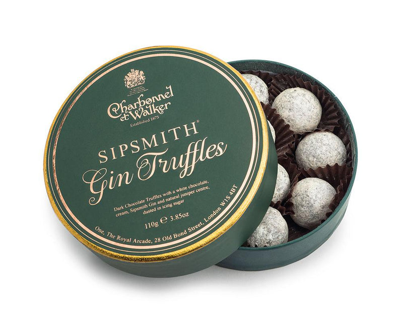 Sipsmith Gin Chocolate Truffles