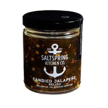 Candied Jalapeno - Saltspring Kitchen