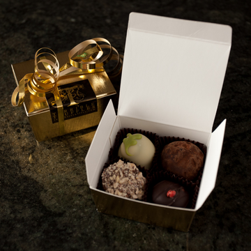 Mixed Chocolate Truffles (4 Pack) - Terrible Truffles