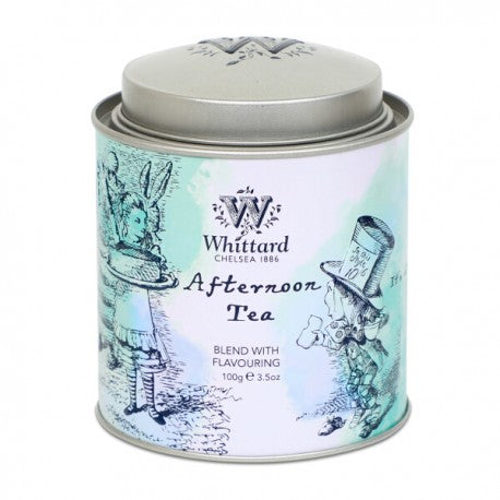 "Thé Noir vrac  Whittard "" Alice in Wonderland Afternoon caddy  100g "" - Épices et vous Tournai"