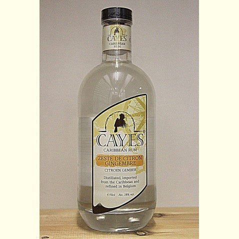 Cayes Rhum Citron-Gingembre