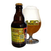 "Music BEER "" Blues "" - Bière blonde"