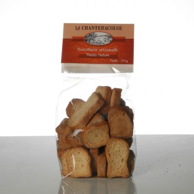 Toasts Natures 140 G - La Chanteracoise