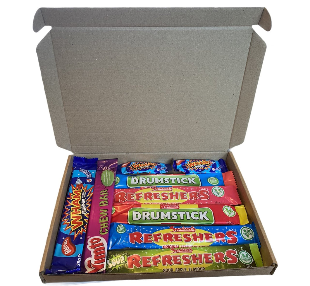 Retro Sweets Chew Bars Selection Box