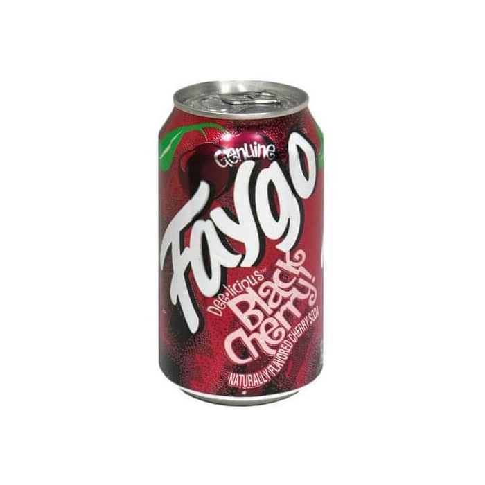 Faygo Black Cherry Cans 355ml