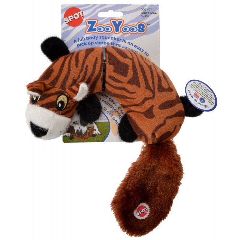 Spot Zooyoos Squeak Dog Toy - Assorted Styles