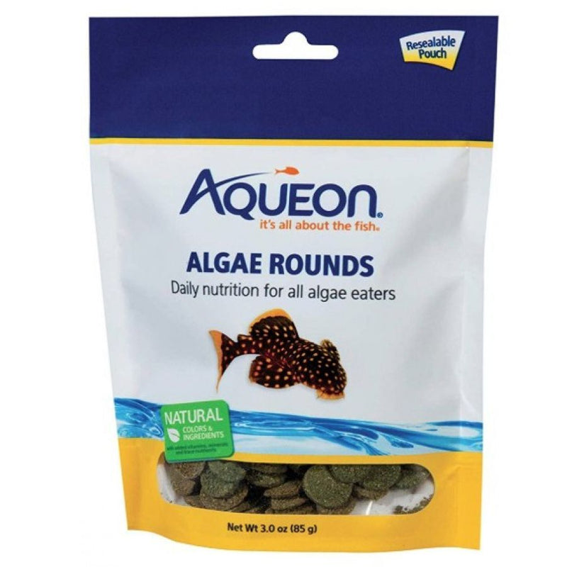 Aqueon Algae Rounds Fish Food