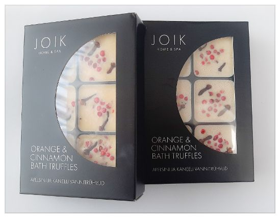 "JOIK BAD TRUFFELS ""ORANGE & CINNAMON"" 258 GRAM"