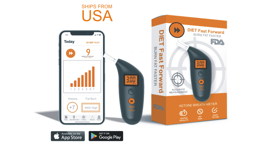 BOOST YOUR IMMUNITY: Diet Fast Forward 2.0 The Complete Ketone Meter And App System - Take Control With A Reliable Partner And Improve Your Health Today!