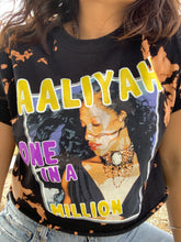 Load image into Gallery viewer, Aaliyah I Miss You Cropped Tee