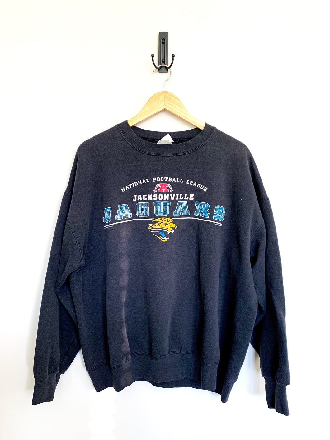 Jags Vintage Black Sweater