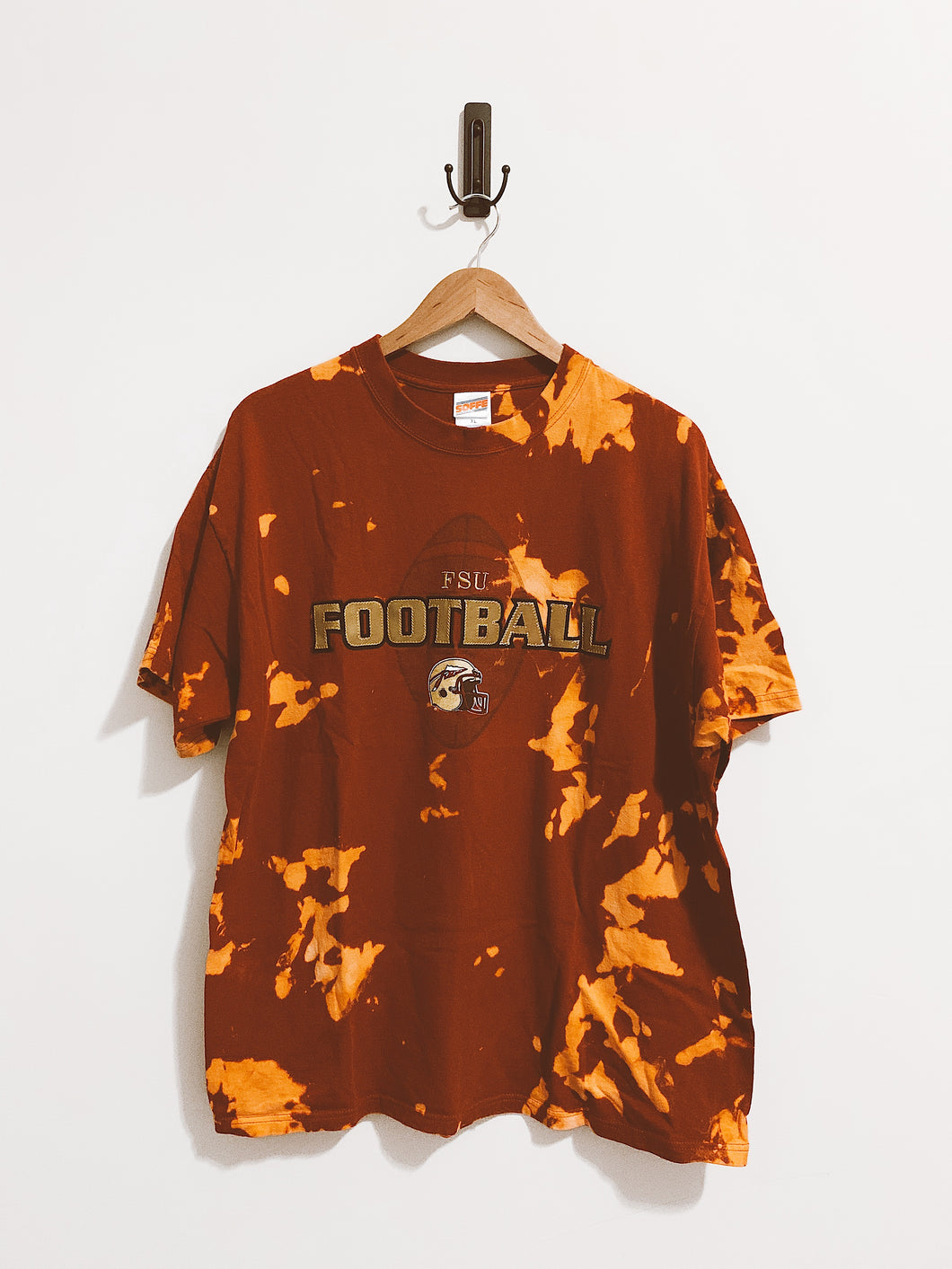 FSU Football Embroidered Tee