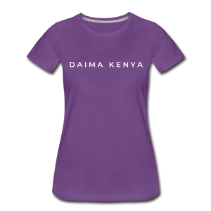 Women's Premium T-Shirt - purple