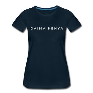Women's Premium T-Shirt - deep navy