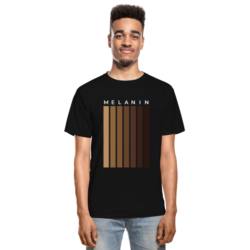 Melanin - Your Black is Beautiful T-Shirt - black