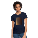 Load image into Gallery viewer, Melanin - Your Black is Beautiful Women's T-Shirt - navy