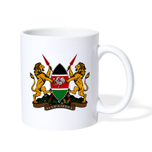 Harambee - Coat of Arms Coffee/Tea Mug - white