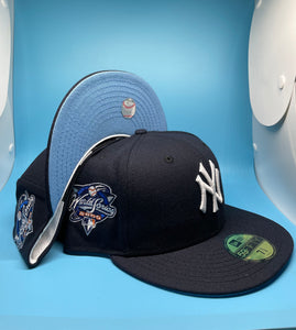 """NEW YERRR CITY"" x NEW ERA (ICY BLUE BRIM) WS 2000 PATCH FITTED"