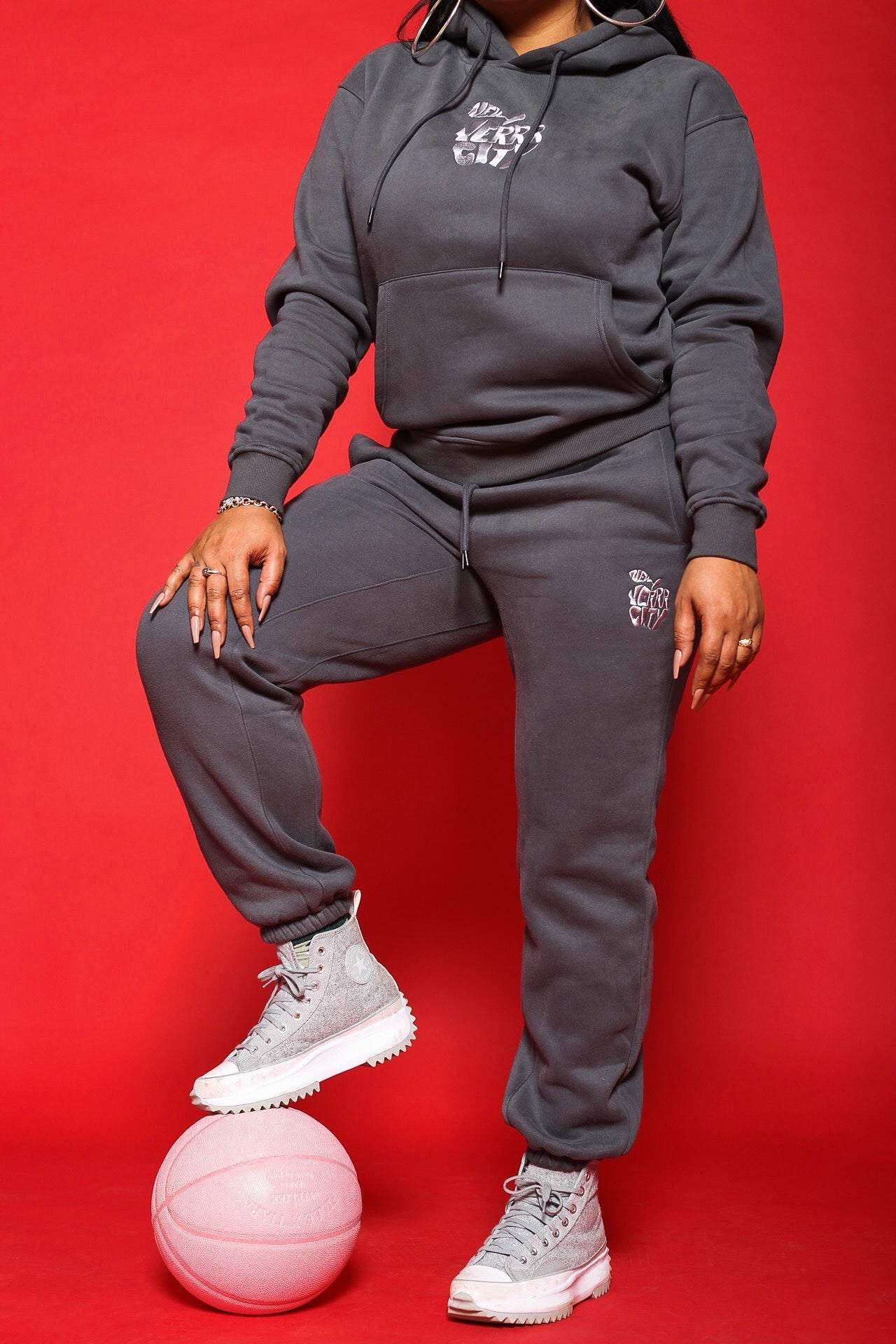 """NEW YERRR CITY"" JOGGER SWEATPANTS"