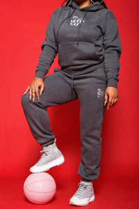 """NEW YERRR CITY"" DRAWSTRING SWEATSUIT HOODIE"