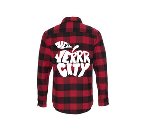 """NEW YERRR CITY"" FLANNEL"