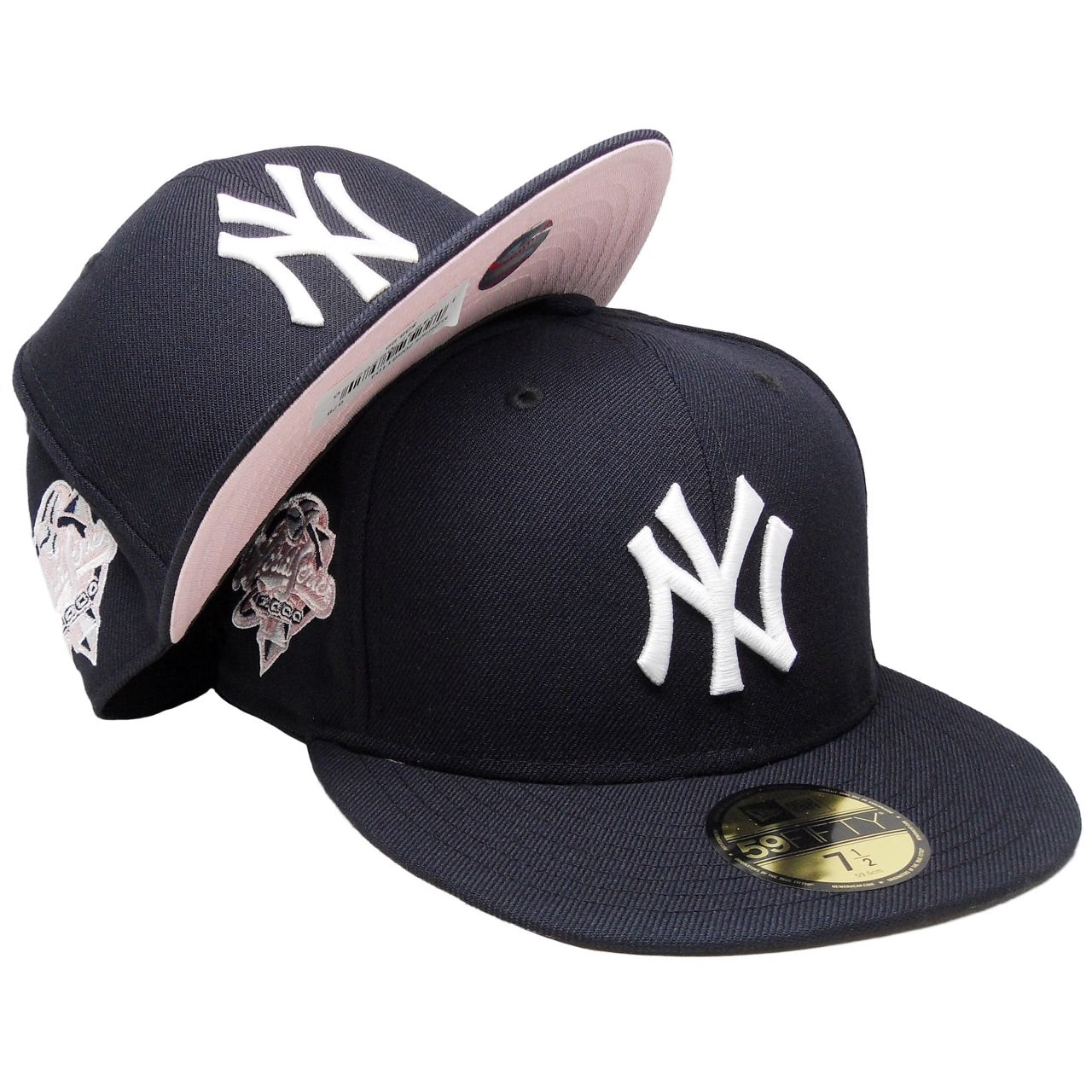 "NEW ERA x ""NEW YERRR CITY"" (PINK BRIM/PINK WS 2000 PATCH) FITTED"