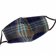 Load image into Gallery viewer, Winter Plaid Quilted Face Mask Set of 3