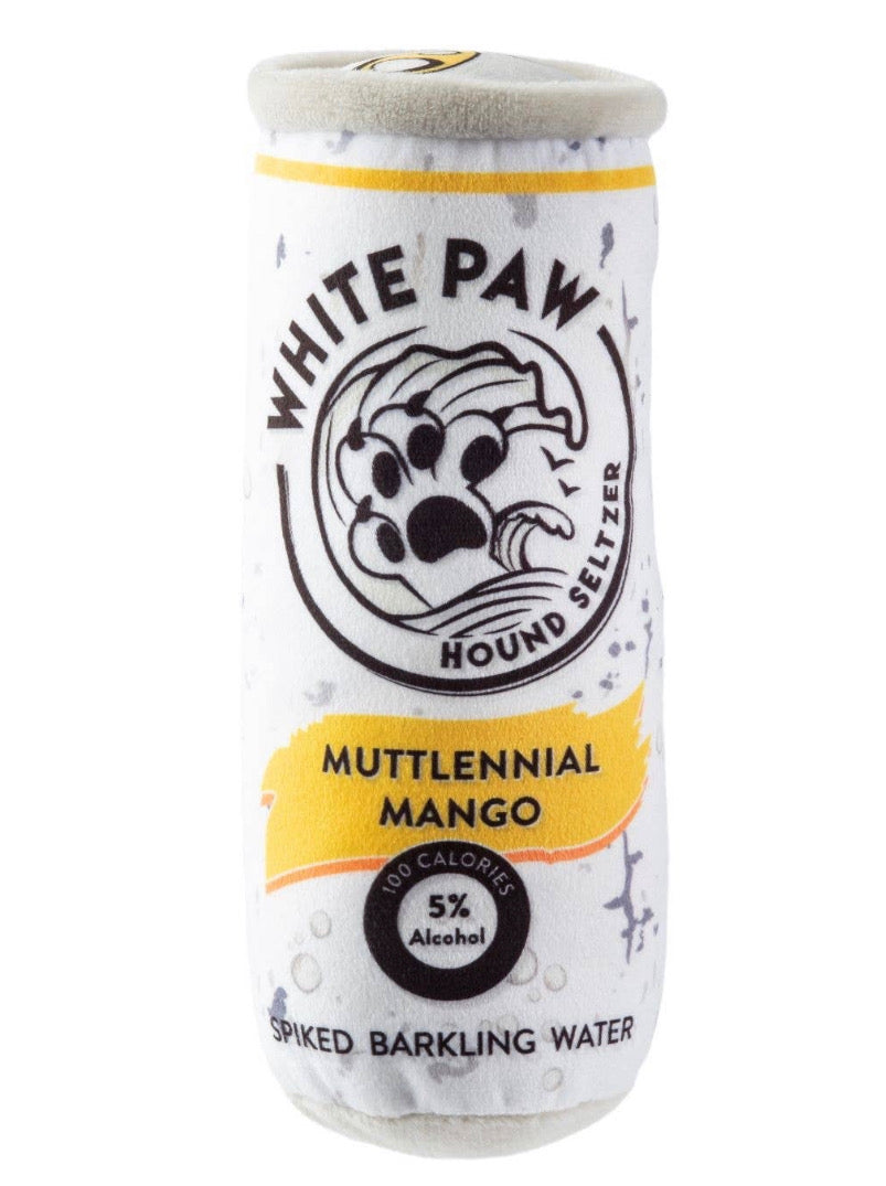White Paw Mango Dog Chew Toy