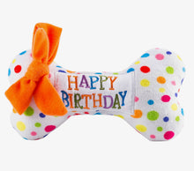 Load image into Gallery viewer, Happy Birthday Bone Chew Toy