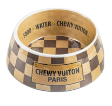 Load image into Gallery viewer, Luxury Pet Chewy Vuition Bowls and gift sets