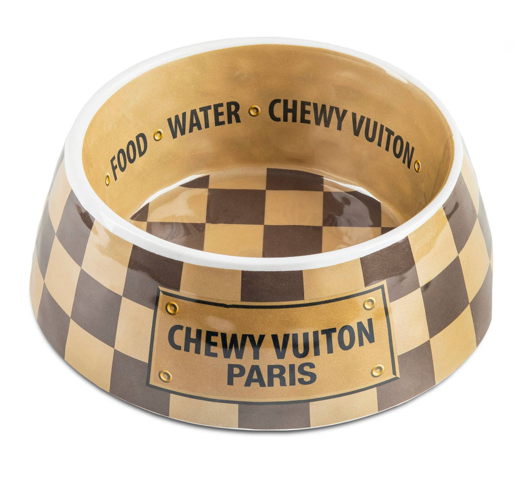 Luxury Pet Chewy Vuition Bowls and gift sets