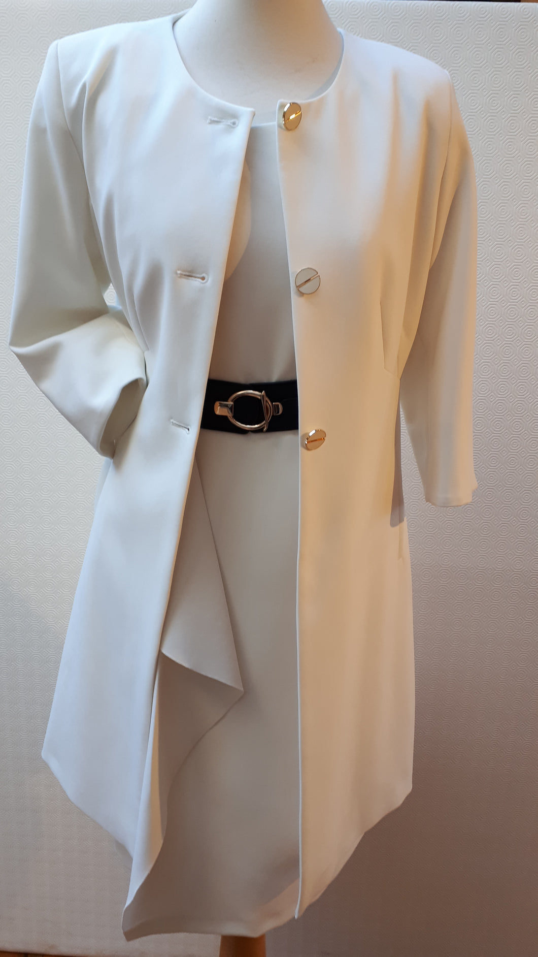 Fee G Classic Cream Coat