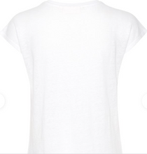 Load image into Gallery viewer, Faylinn O Neck-White T Shirt